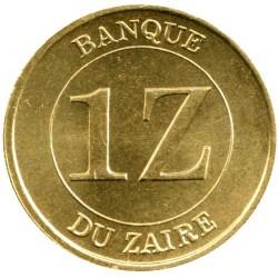 Монета > 1заир, 1987 - Заир  - reverse