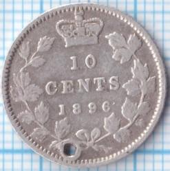 سکه > 10سنت, 1858-1901 - کانادا  - reverse