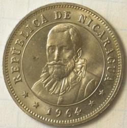 Münze > 25Centavos, 1964-1965 - Nicaragua   - obverse