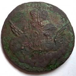 Pièce > 1kopek, 1755-1757 - Russie  - reverse
