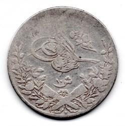 Moneta > 10qirsh, 1876 - Egipt  (Srebro (kolor szary)) - obverse