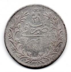 Moneta > 10qirsh, 1876 - Egipt  (Srebro (kolor szary)) - reverse