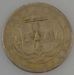 Moneda > ½penique, 1902-1903 - Jamaica  - reverse