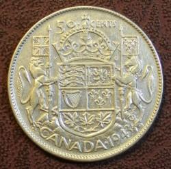 Moneta > 50centų, 1937-1947 - Kanada  - reverse