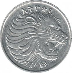 Moneta > 1santimas, 1977-2005 - Etiopija  - obverse