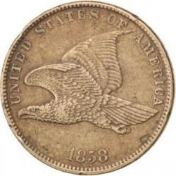Moneda > 1centavo, 1857-1858 - Estados Unidos  (Flying Eagle Cent) - obverse