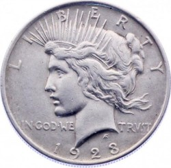 1 Dollar 1923 Peace Dollar Usa Münzen Wert Ucoinnet