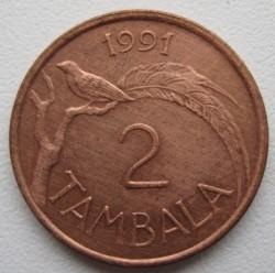 Монета > 2тамбалы, 1984-1994 - Малави  - reverse