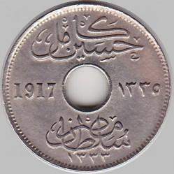 Monēta > 5millīmi, 1916-1917 - Ēģipte  - obverse