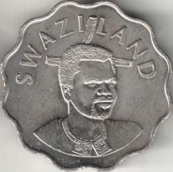 Монета > 20центів, 1998-2005 - Свазіленд  - obverse