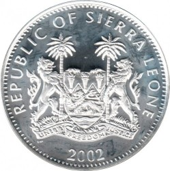 Moneta > 10dollari, 2002 - Sierra Leone  (In memoria - Regina madre, regina Elisabetta II e la principessa Margaret) - obverse