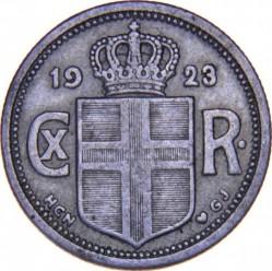 Münze > 25Aurar, 1922-1940 - Island   - obverse