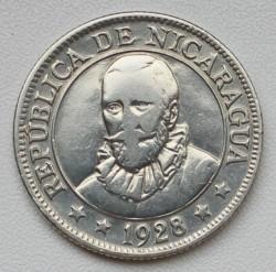 Moeda > 25centavos, 1912-1936 - Nicarágua  - obverse