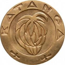 Moneta > 5franków, 1961 - Katanga  - obverse