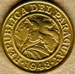 Монета > 25сентимів, 1948 - Парагвай  - obverse