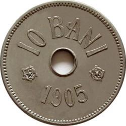 Монета > 10бань, 1905-1906 - Румыния  - reverse
