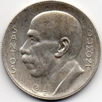 NGC MS65 1936 Brazil 5000 Reis