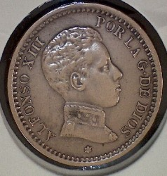 Monēta > 2sentimo, 1904-1905 - Spānija  - obverse
