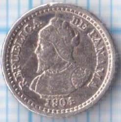 Moneta > 2½sentesimų, 1904 - Panama  - obverse