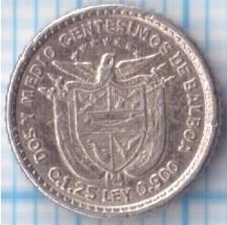 Moneta > 2½sentesimų, 1904 - Panama  - reverse
