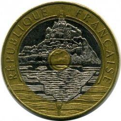 سکه > 20فرانک, 1992-2001 - فرانسه  - obverse