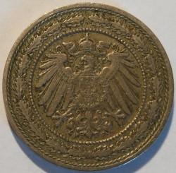 Кованица > 20фенинга, 1890-1892 - Немачка  - obverse