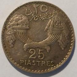 Moneta > 25piastre, 1929-1936 - Libano  - reverse