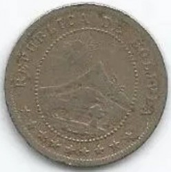 Münze > 5Centavos, 1895 - Bolivien  (Kupfernickel / grau) - obverse