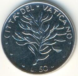 Moneta > 50lirų, 1970-1976 - Vatikanas  - reverse