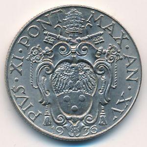 Vaticano 50 centesimi 1929 1937 km 4 catalogo for Moneta 50 centesimi