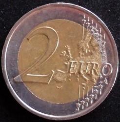 Moneda > 2euros, 2009-2017 - Mónaco  - reverse