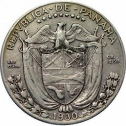 מטבע > ½בלבואה, 1930-1947 - פנמה  - obverse