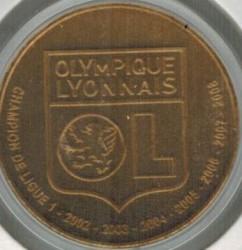 Moneda > 1½euros, 2009 - Francia  (Clubs de Futbol - Olympique Lyonnais) - reverse