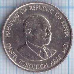 Кованица > 50центи, 1978-1989 - Кенија  - obverse