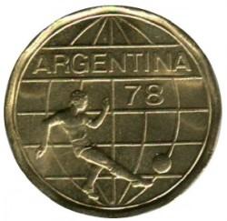 سکه > 50پزو, 1977-1978 - آرژانتین  (FIFA World Cup, Argentina 1978) - obverse