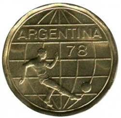 سکه > 50پزو, 1977-1978 - آرژانتین  (FIFA World Cup, Argentina 1978) - reverse