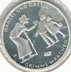 Moeda > 10euro, 2014 - Alemanha  (Contos de Grimm – Hansel e Gretel) - reverse