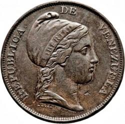 Mynt > 1centavo, 1843-1852 - Venezuela  - obverse