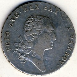 Монета > 1талер, 1811-1814 - Польша  - obverse