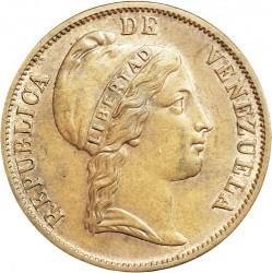 錢幣 > 1分, 1852 - 委內瑞拉  (無鑄記) - obverse