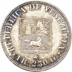 Mynt > 1real, 1858 - Venezuela  - reverse