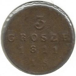Монета > 3гроша, 1810-1814 - Польша  - obverse