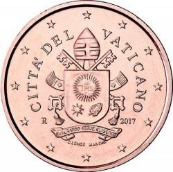 Münze > 1Eurocent, 2017-2019 - Vatikanstadt   - obverse