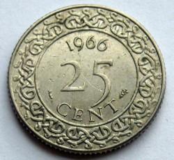 العملة > 25سنت, 1962-1986 - سورينام  - reverse