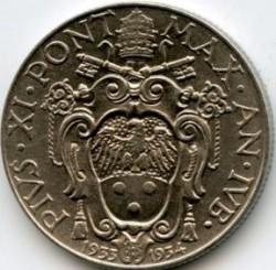 Munt > 50centesimi, 1933 - Vaticaanstad  - obverse
