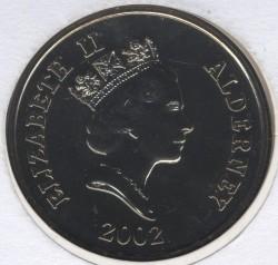 العملة > 5جنية, 2002 - آلدرني  (50th Anniversary - Accession of Queen Elizabeth II) - obverse
