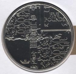 العملة > 5جنية, 2002 - آلدرني  (50th Anniversary - Accession of Queen Elizabeth II) - reverse