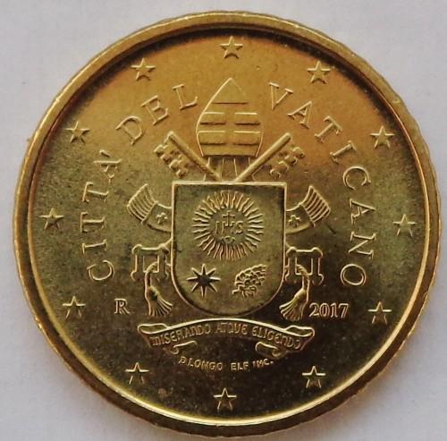 Vatican 50 centesimi 2018 NEW