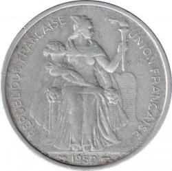 Монета > 5франков, 1952 - Новая Каледония  - reverse