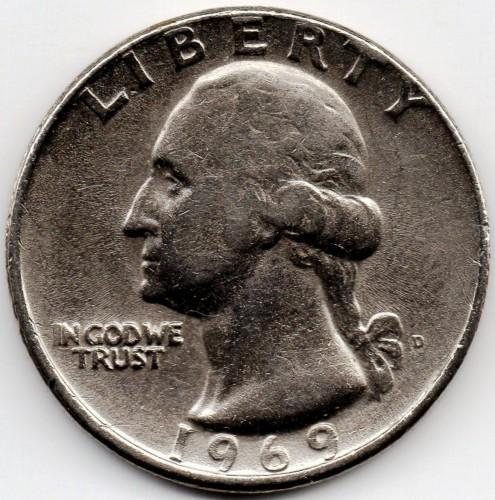 ¼ Dollar 1969 Usa Münzen Wert Ucoinnet